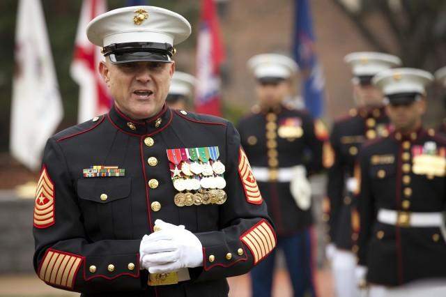 Marines Welcome New Sergeant Major Article The United