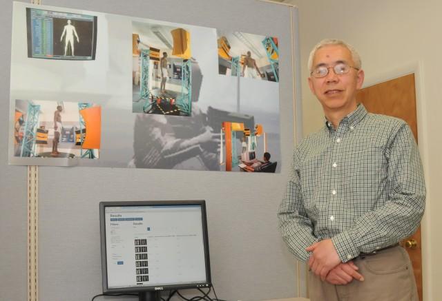 3-D shape database improves fit of clothing, equipment