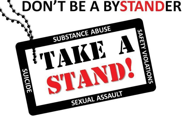 The Take A STAND! logo.