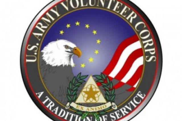 Army Corps of Volunteers logo