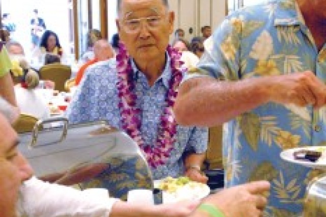 Whitey Yamamoto, a veteran of the 442nd Regiment, has volunteered at the U.S. Army Museum of Hawaii at Fort DeRussy, in Waikiki, Hawaii, for the past 27 years.