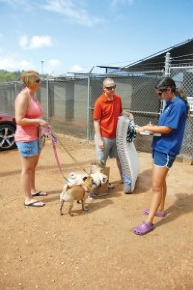 Garrison dedicates enlarged FMWR Pet Kennels