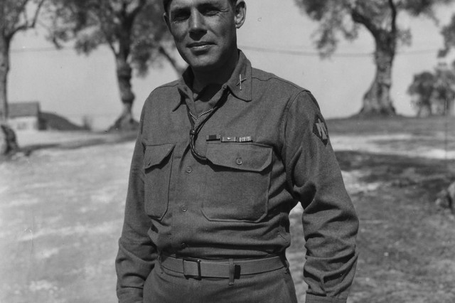 Col. William Darby, commander of the 10th Mountain Division's Task Force Darby, which finally rooted out the last German forces still fighting in Italy.