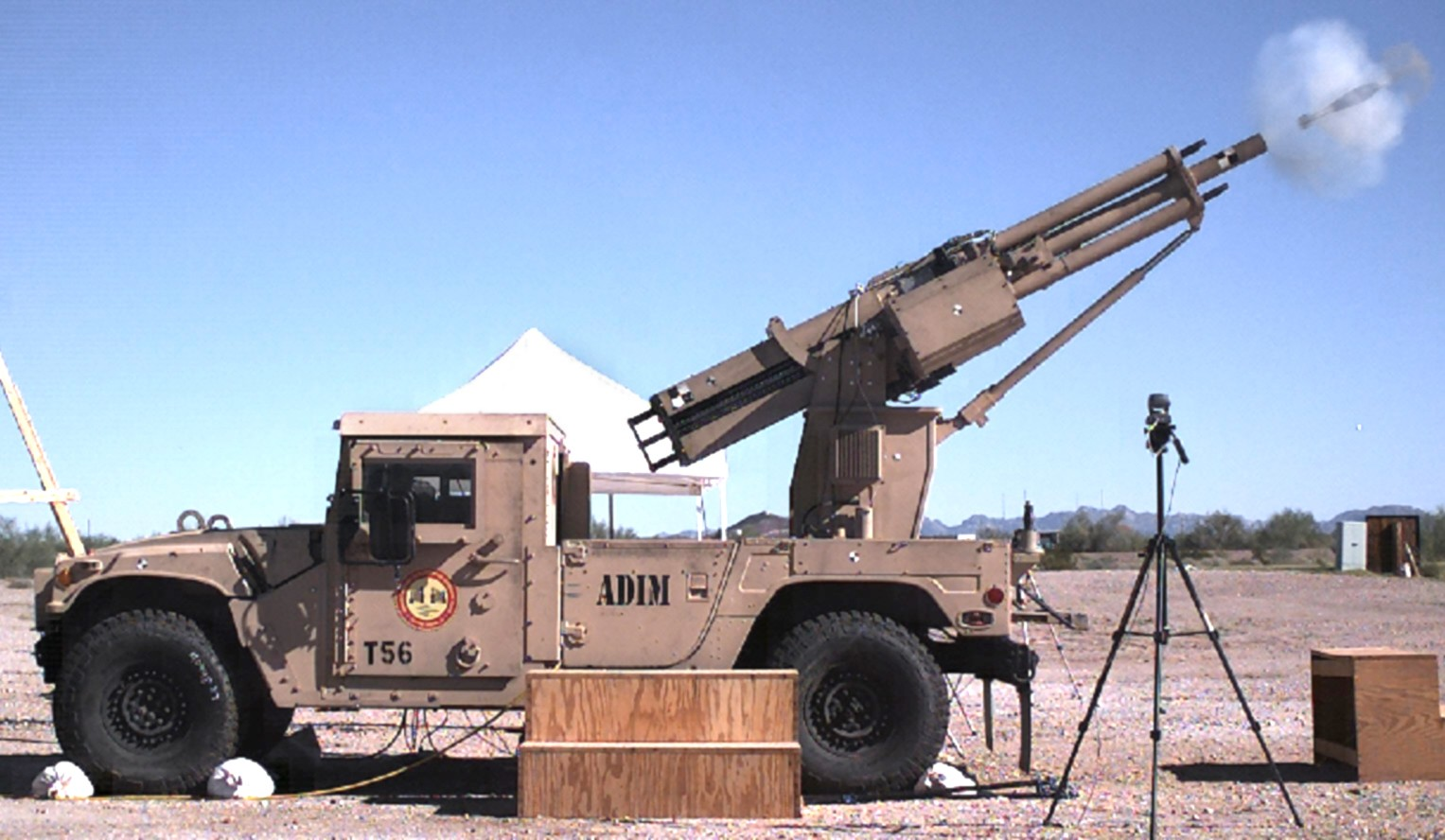 Vehicle Fire Systems : Revolutionary mortar system to boost speed accuracy