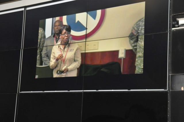 TSC soldier receives Purple Heart