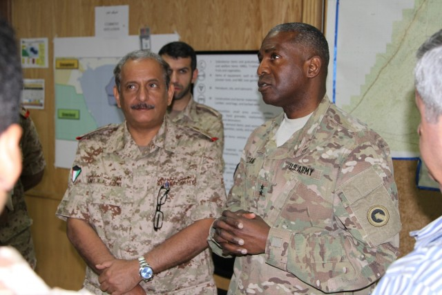 Kazma II logistics exercise brings together U.S., Kuwait militaries