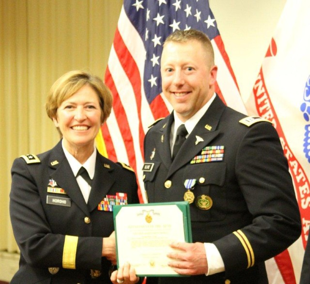 DIVWEST nurses attend C.J. Reddy, take top Reserve honors