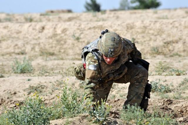 20th CBRNE EOD troops detonate Civil War-era round