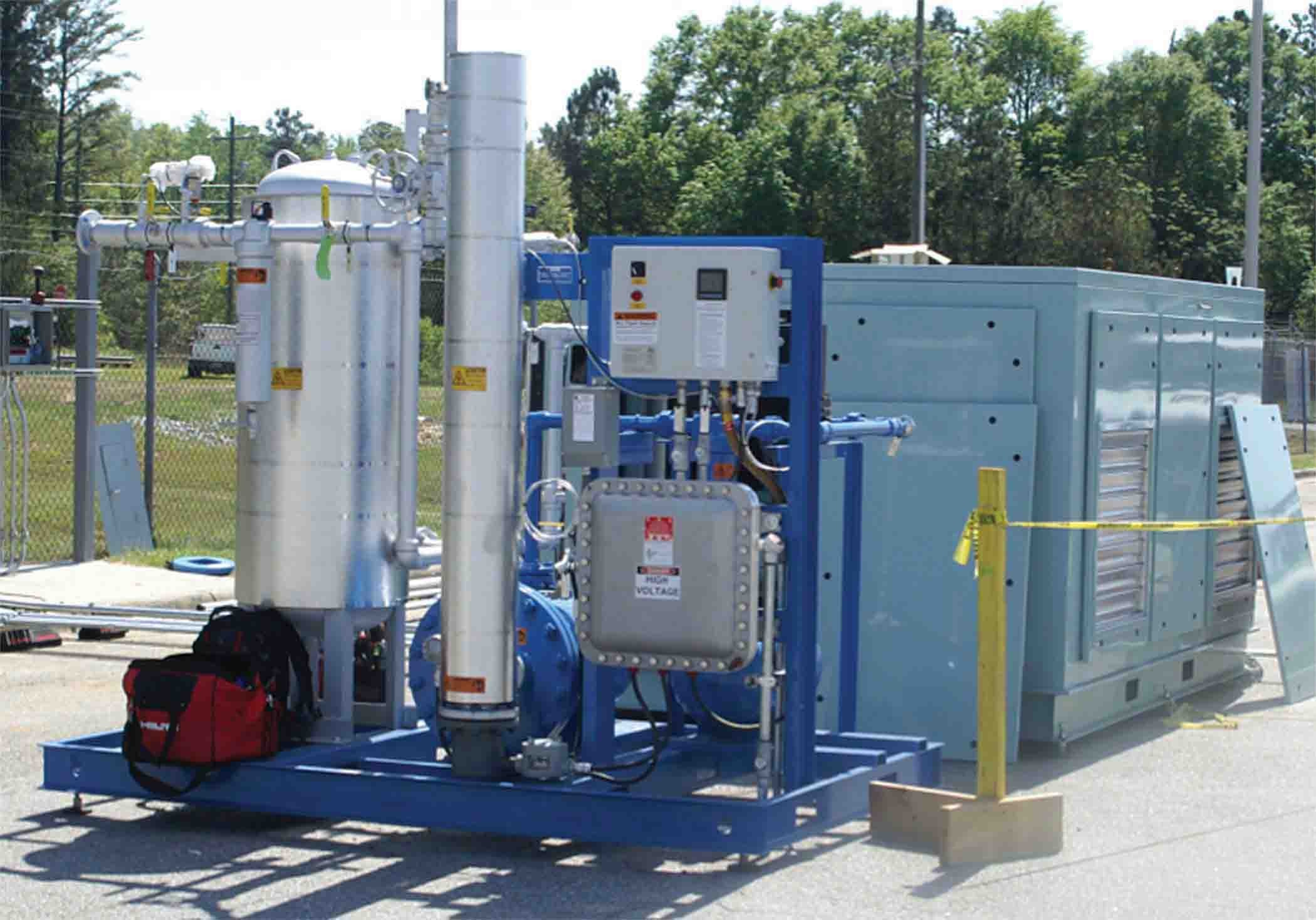 Natural Gas Stations >> Compressed Natural Gas Station Operational Article The United