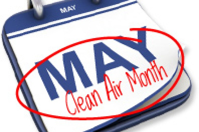 """May is """"Clean Air Month."""" As part of your transition into spending more time outdoors, check the state of your air first."""