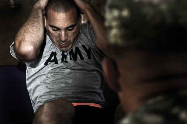 Soldiers take tough stance on physical fitness test failures