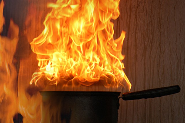 Unattended Kitchen Fires Can Overcook Home Belongings