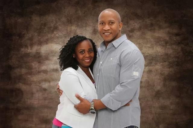Cpt. Kiana L. Jones and Duwayne Jones