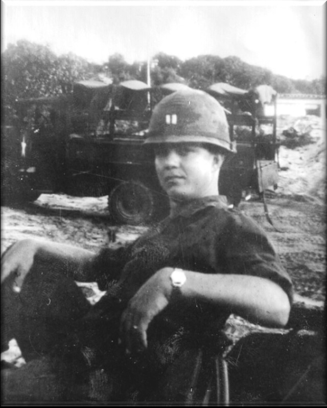 Company commander in Vietnam proud of his troops