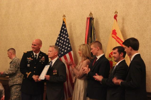 Garrison honorees serve 'best installation on planet'
