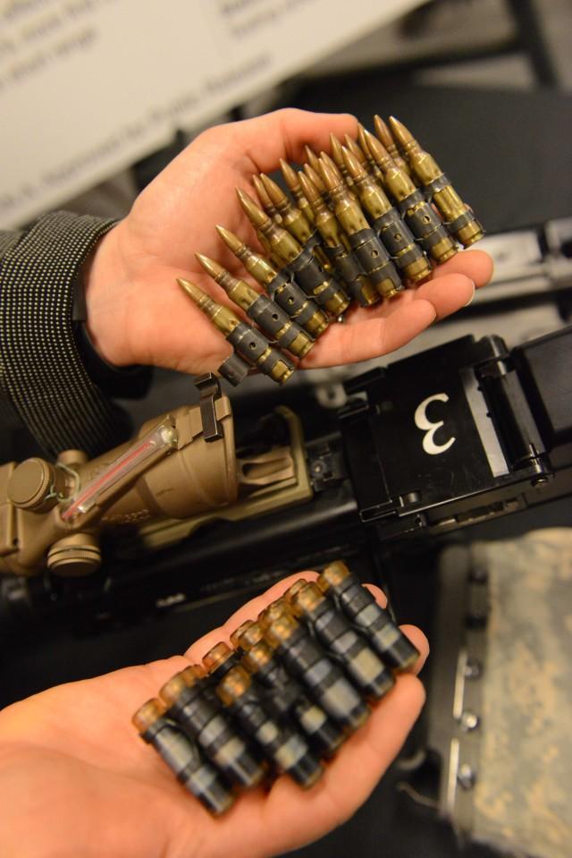 New light machine gun: M249 put on weight control