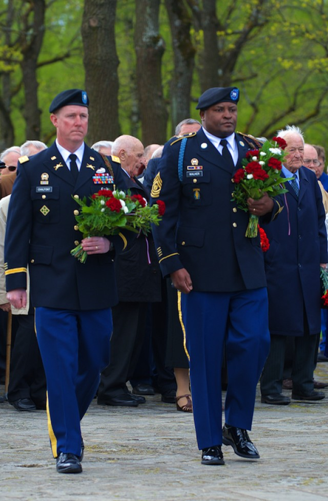 Fort Stewart Soldiers participate in Latvia 'Victory in Europe Day' event