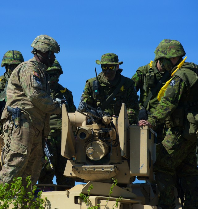 US, Estonian Soldiers conduct joint training during 'Operation Siil'