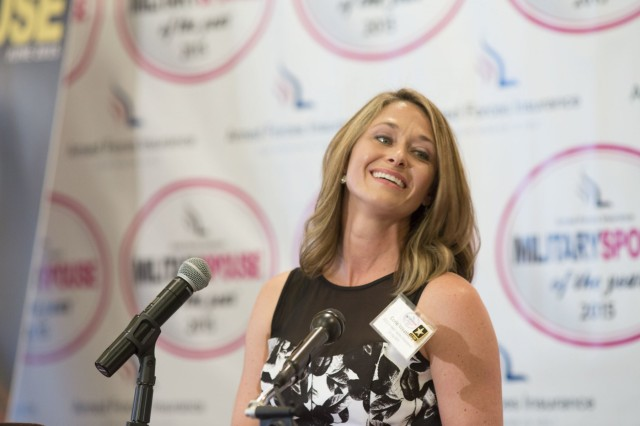 Army wife named Military Spouse of the Year