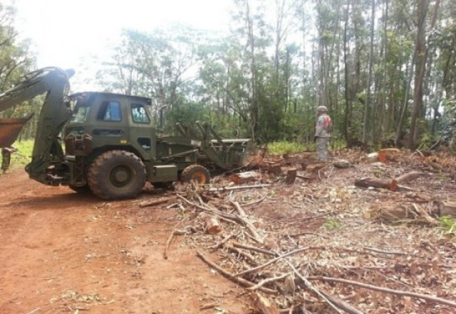 Army wraps up Schofield range prescribed burn