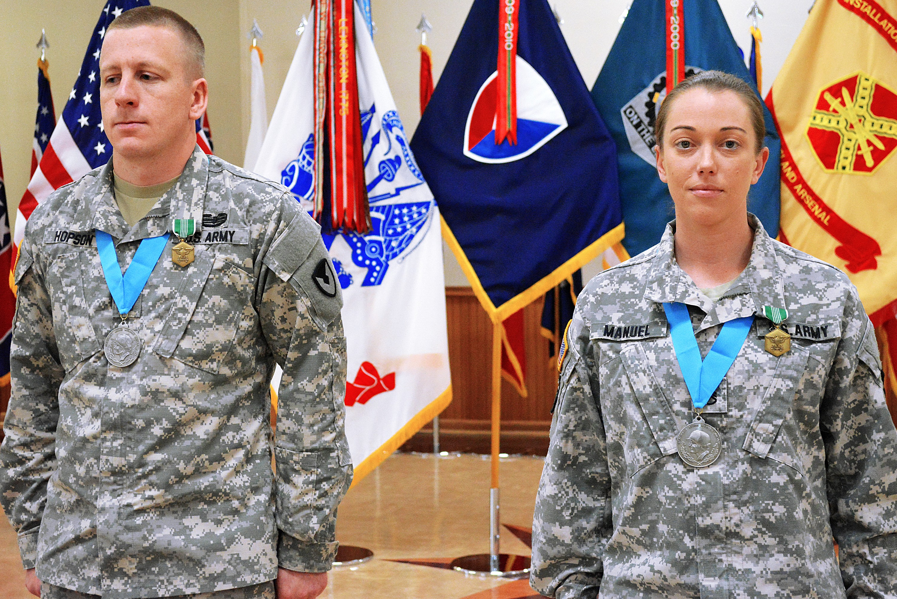 2 Asc Soldiers Inducted Into Sgt Audie Murphy Club