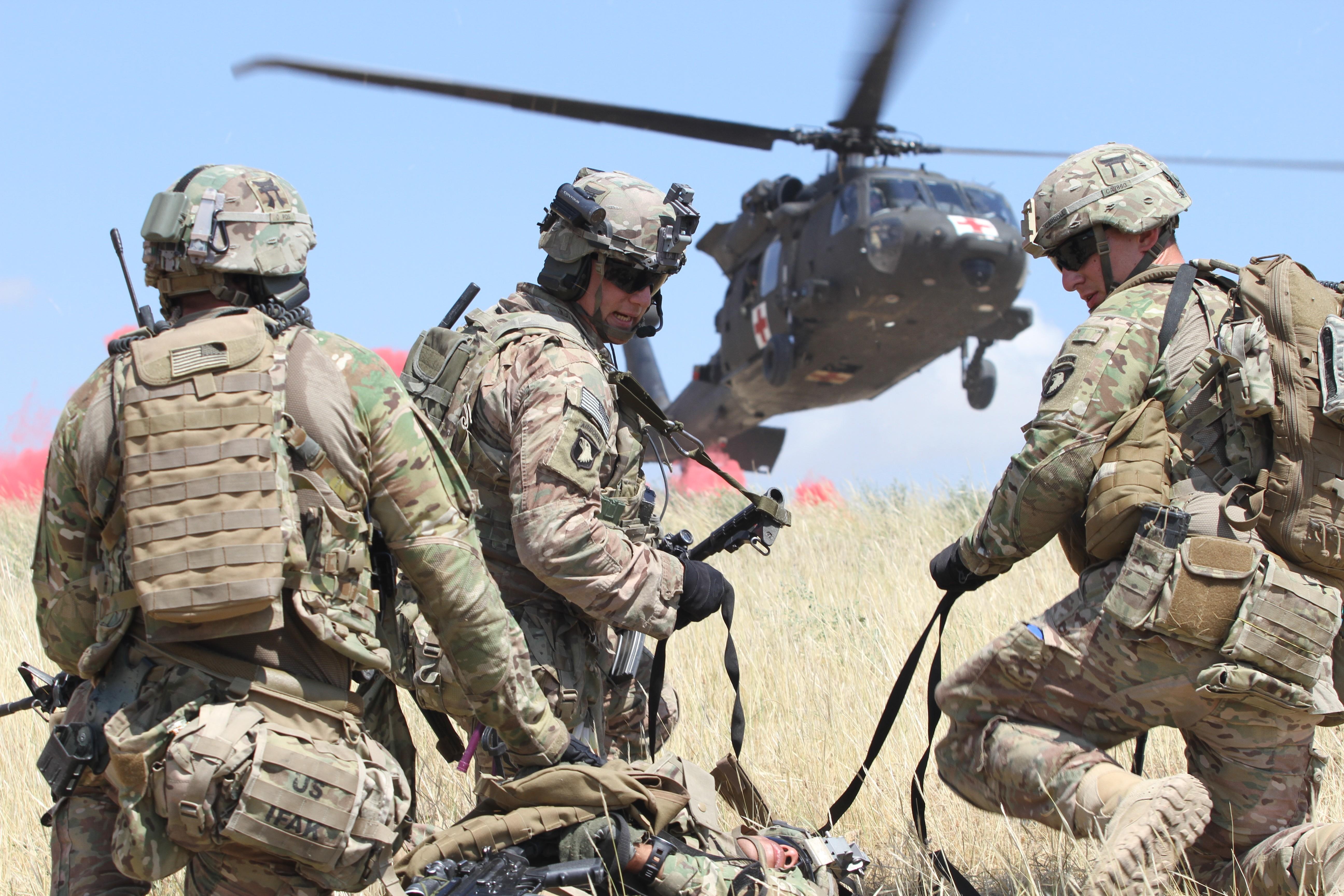 101st Airborne Division S 3bct 101cab Combine