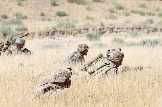 101st Airborne Division's 3BCT, 101CAB combine capabilities for live fire event in Afghanistan