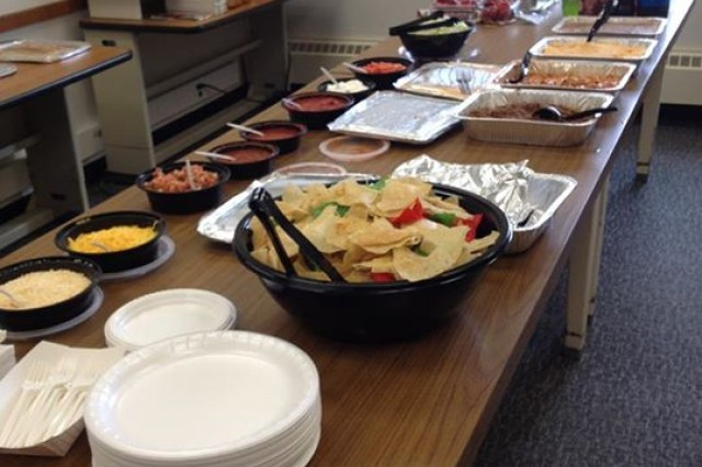 The Rock Island field office hosted a triple-dipper luncheon on Tuesday, 5 May 2015.