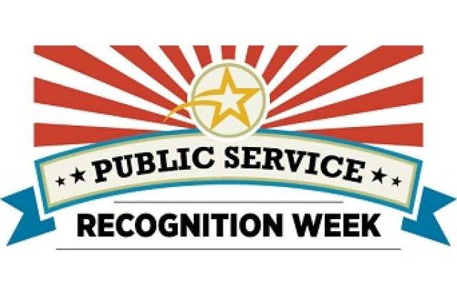 Public Service Recognition Week, 3-9 May 2015.