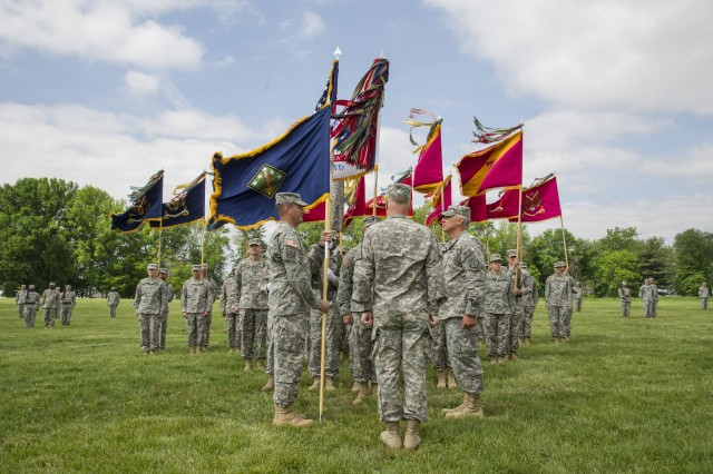 20th CBRNE holds change of command ceremony