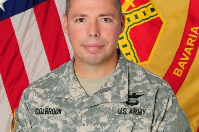 Col. Mark Colbrook, commander of USAG Bavaria