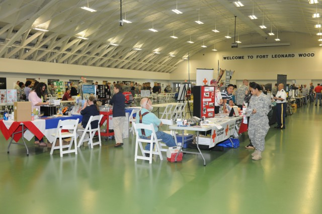Fort Leonard Wood Safety Days concluded with the Safety and Health Fair at Nutter Field House May 15.