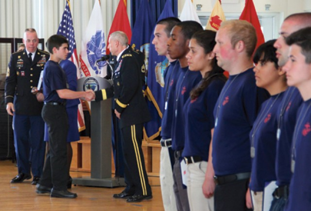APG salutes local military recruits during Armed Forces Week ceremony