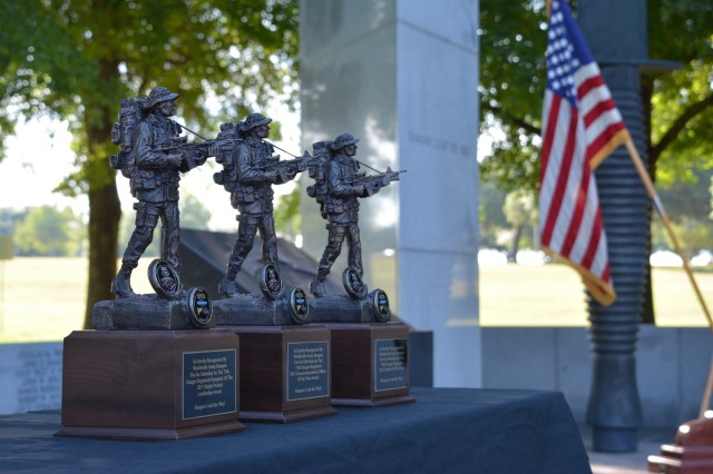 FORT BENNING, Ga. -- The 75th Ranger Regiment announced the winners to this year's Col. Ralph Puckett Leadership Award, as well as the Non-commissioned Officer and Soldier of the Year at Fort Benning, May 21.