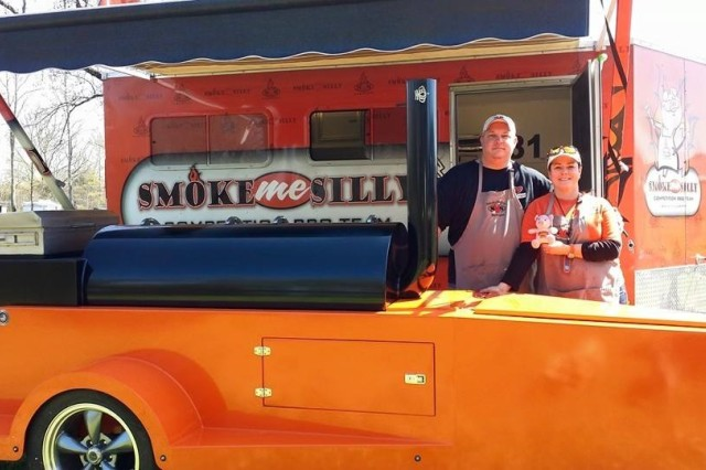 "The ""Smoke Me Silly"" husband-and-wife team of Robert Vanderipe and Lex Vanegas took home the top prize at the 15th annual WhistleStop Weekend barbecue competition May 2-3 in Huntsville."