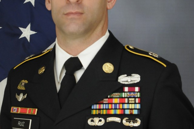 Master Sgt. Pablo A. Ruiz III