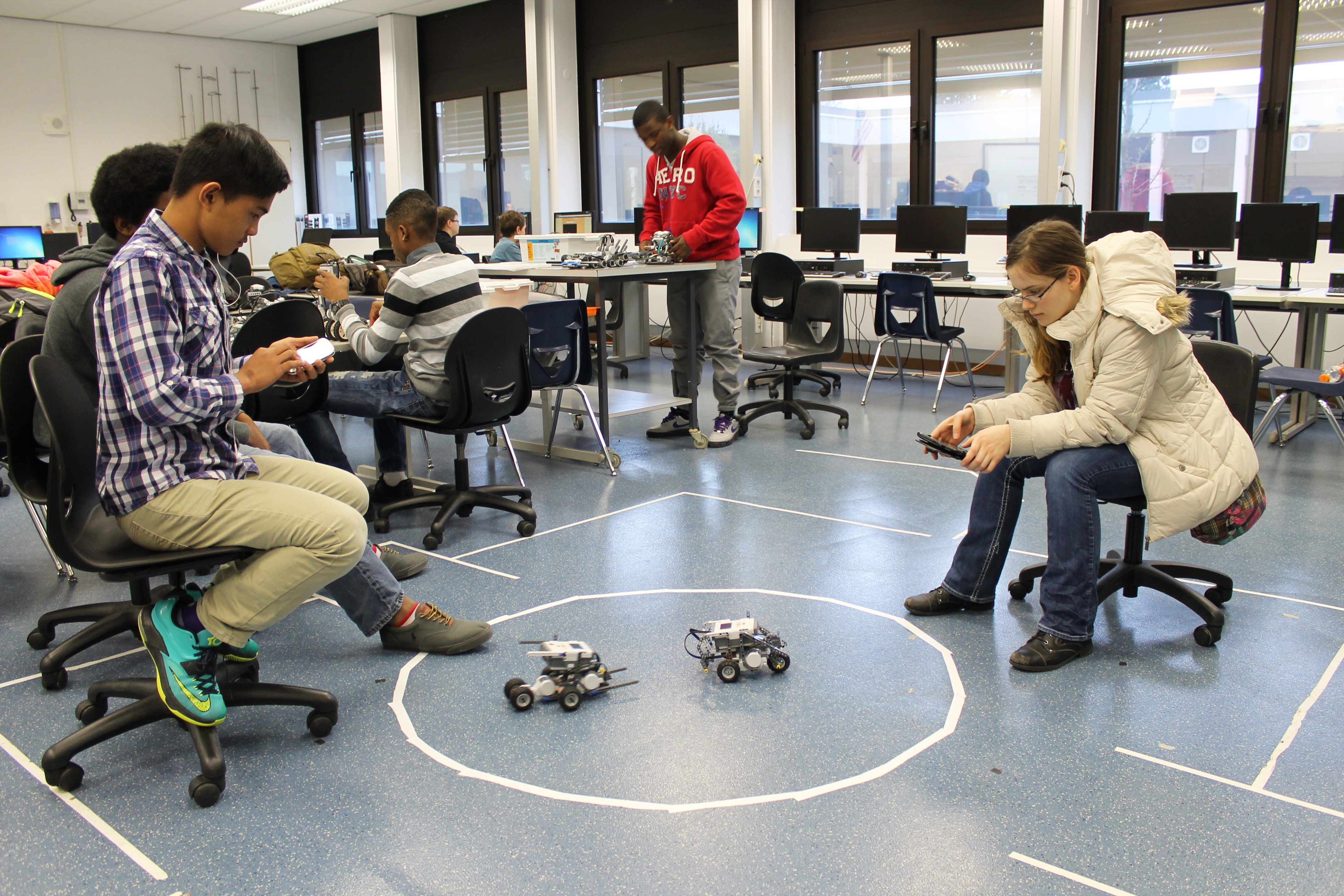 Tech Students Design Race Robots Article The United States Army