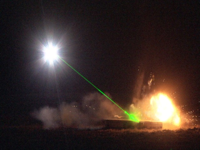 Army, Air Force take bomb disposal to new level with lasers