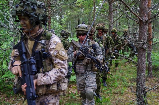 Exercise Saber Strike 15 demonstrates international cooperation capabilities