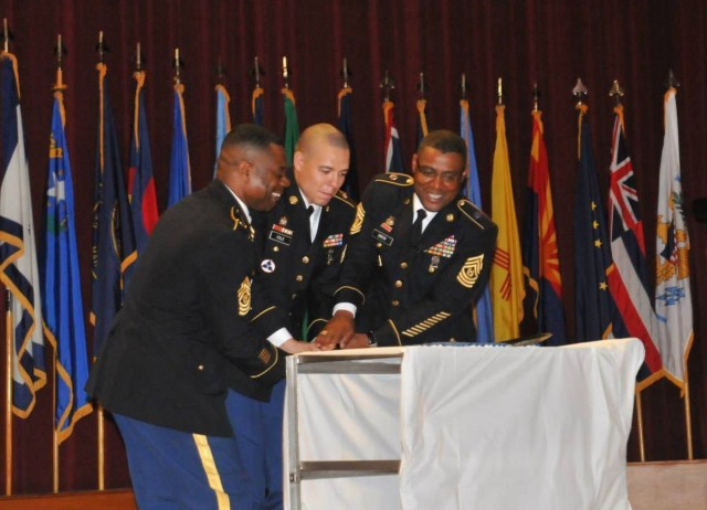 Sustainers induct 10 Soldiers into NCO Corps
