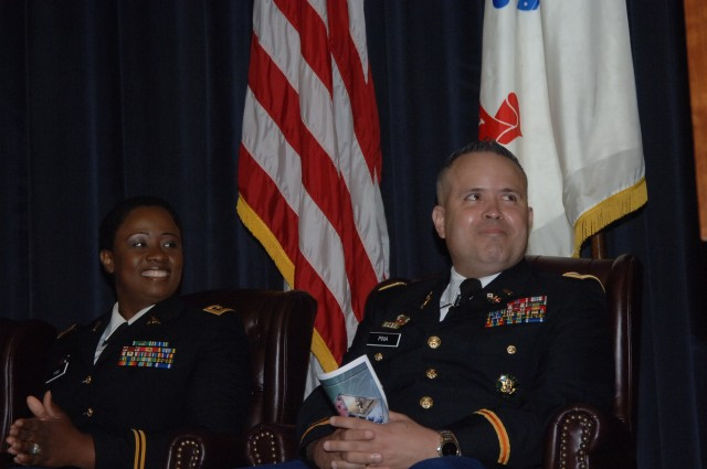 High-Tech Army Couple