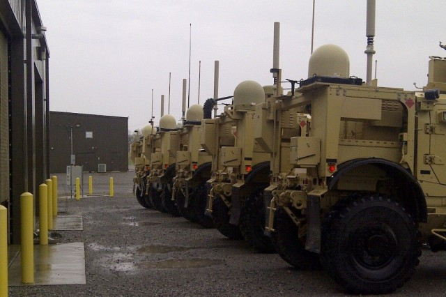Vehicles shown are lined up and fully equipped with a Capability Set 15.