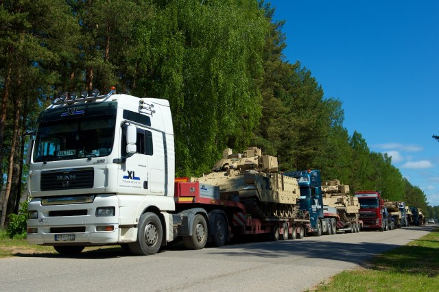 Able Falcon allows freedom of movement for U.S. assets in Baltic States