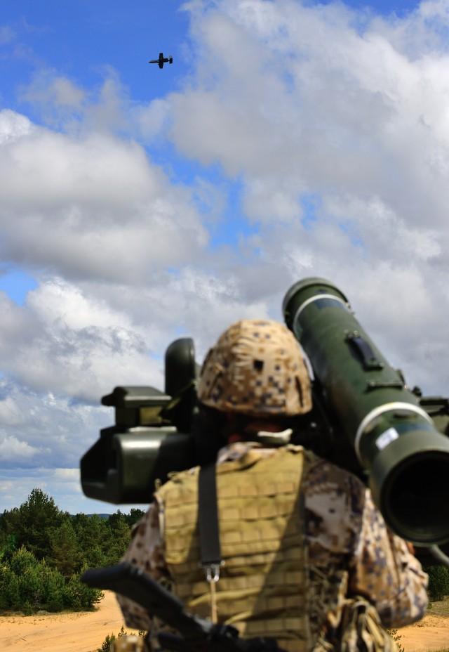Saber Strike 2015 Close Air Support