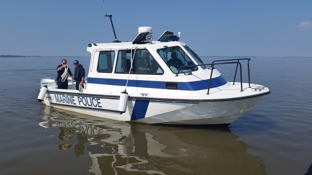Training to protect the waters of Aberdeen Proving Ground