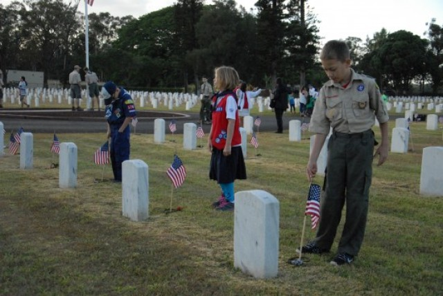 Memorial Day engages all age groups
