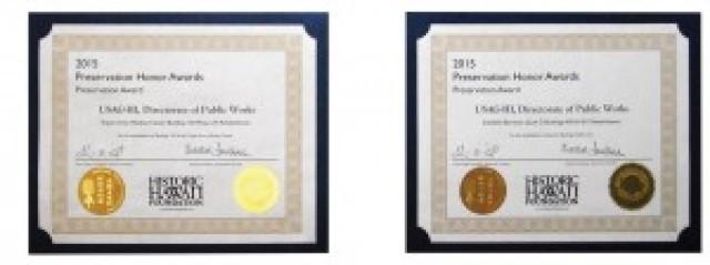 USAG-HI wins Historic Hawaii Foundation awards