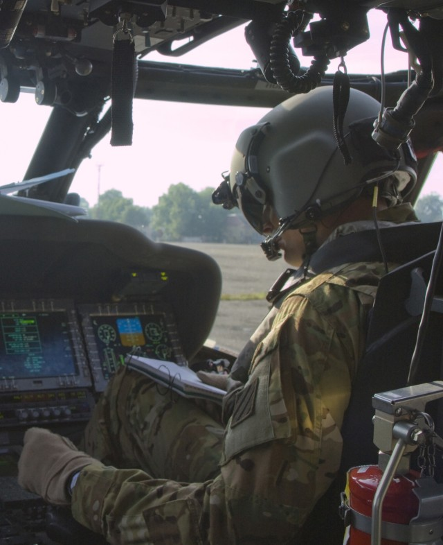 Taking back the skies: Black Hawks fly training mission in Lithuania