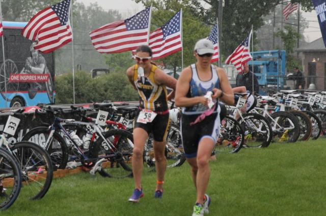Army women's team wins Armed Forces Triathlon