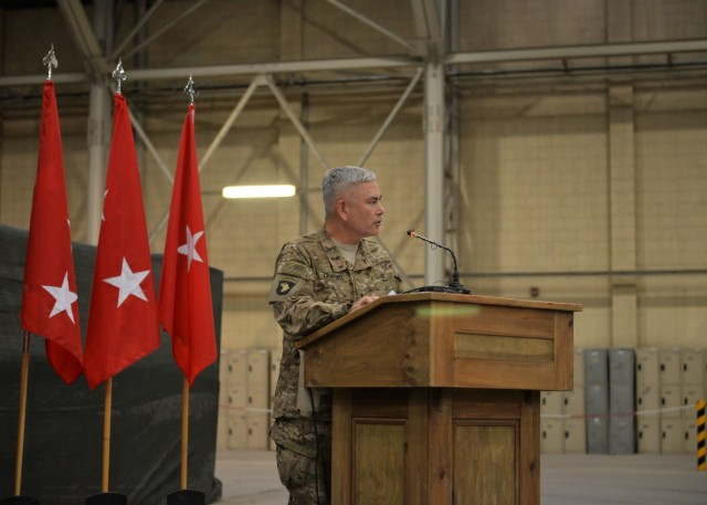 7th Infantry Division assumes responsibility of TAAC-S